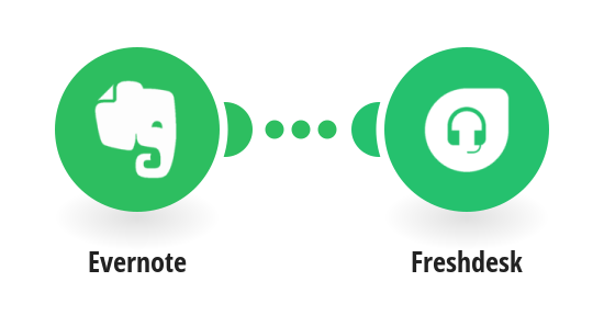Add new Evernote notes to Freshdesk as notes