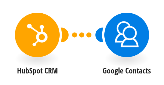 Add new HubSpot CRM contacts to Google Contacts