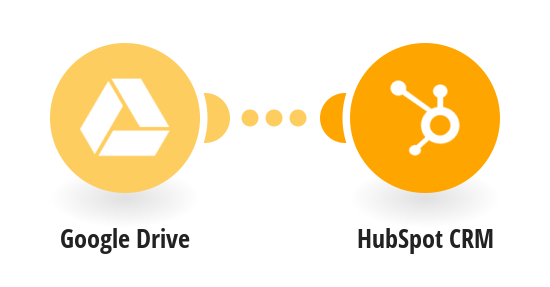 Save new Google Drive files to HubSpot CRM