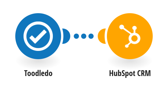 Add new Toodledo tasks to HubSpot CRM  as deals