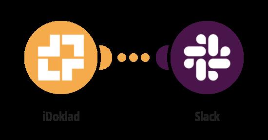 Zaslání zprávy na Slack o nové faktuře v iDokladu