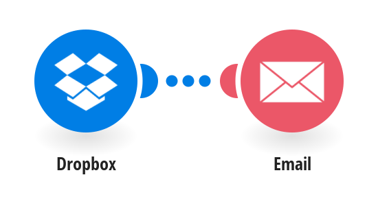 Receive an email when a new file is added to DropBox