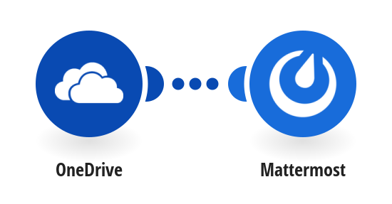 Post a new message on Mattermost when a new file is added to OneDrive