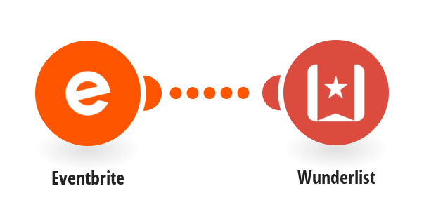 Create Wunderlist tasks for new Eventbrite events you create