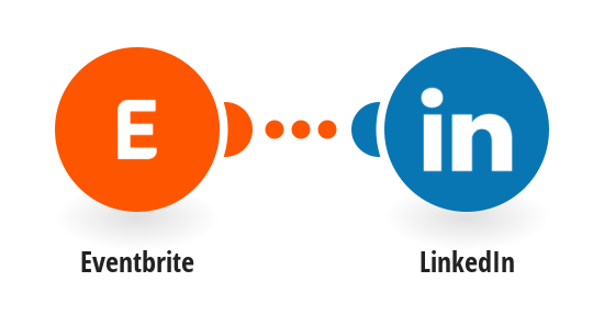 Post new Eventbrite events you create to LinkedIn