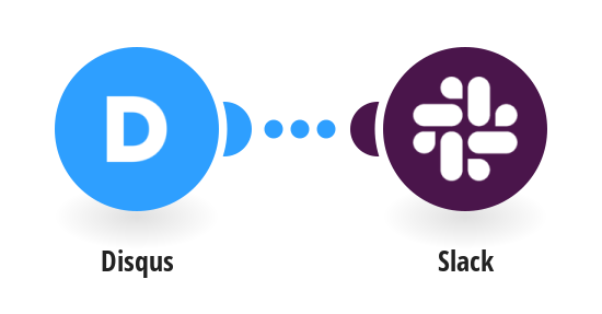 Send Slack messages for new Disqus comments