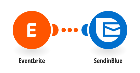 Create or update SendinBlue contacts from new Eventbrite attendees