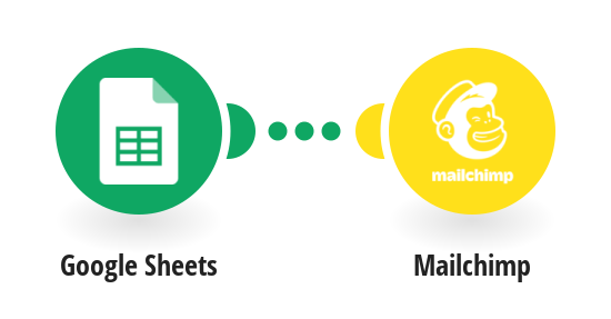 Create Mailchimp subscribers from new Google Sheets rows