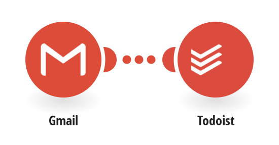 Create Todoist tasks from new labeled messages in Gmail
