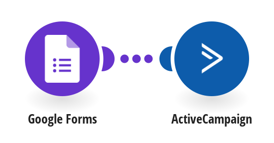 Create Active Campaign contacts from new Google Form responses