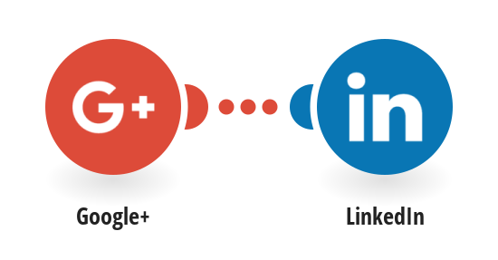Post new Google+ activities to LinkedIn