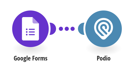 Create Podio tasks from new Google Forms responses