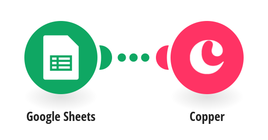 Create leads on Copper for new rows on Google Sheets