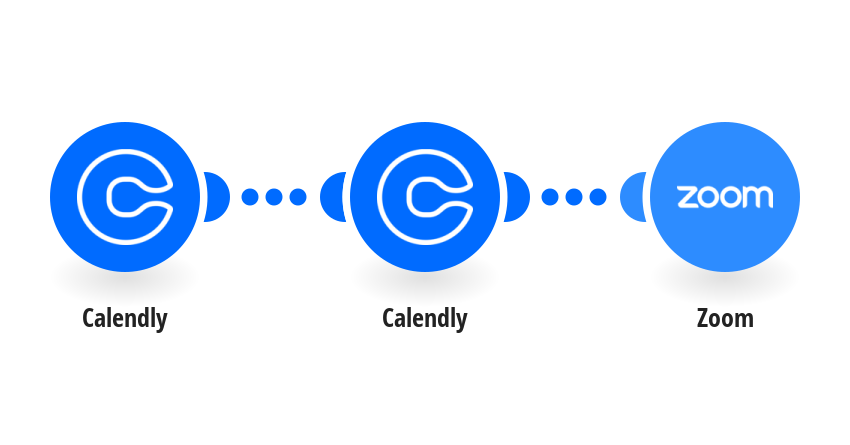 Create Zoom meetings from new Calendly events