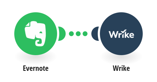 Create Wrike tasks from new Evernote notes