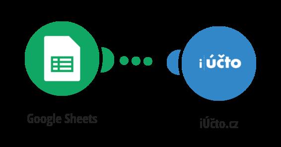 Vytvoření nového dodavatele v iÚčtu z Google tabulky