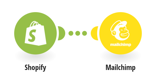 Add new Shopify customers to a Mailchimp mailing list