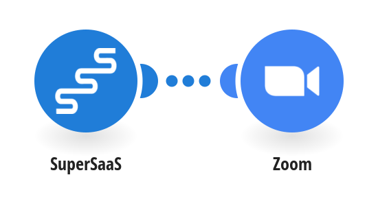 Let the SuperSaaS reminder create a meeting room in Zoom