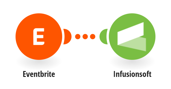 Add new Eventbrite attendees to Infusionsoft as contacts