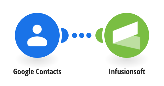 Add new Google Contacts to Infusionsoft