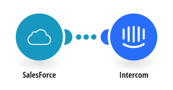 Add new SalesForce leads to Intercom as users