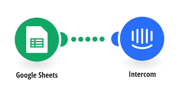 Add Intercom users from new Google Sheets rows