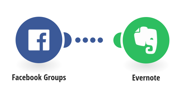 Create Evernote notes from new Facebook Groups posts