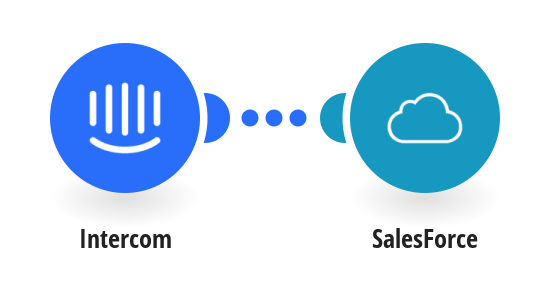 Add new Intercom users to SalesForce as contacts