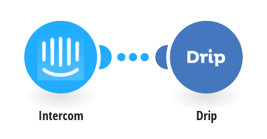 Add new Intercom users to Drip