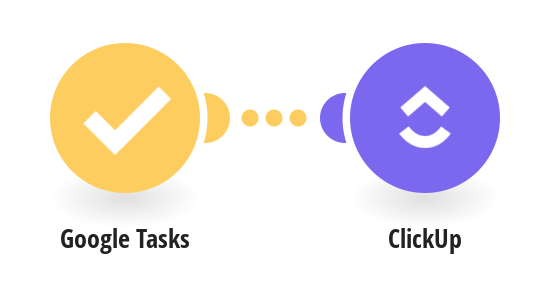 Add new Google Tasks to ClickUp