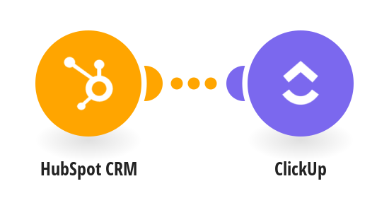 Create ClickUp tasks from new HubSpot CRM contacts