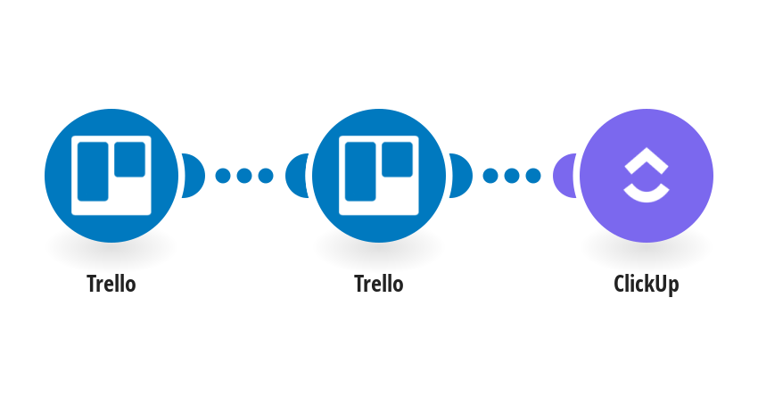 Create ClickUp tasks from new Trello cards