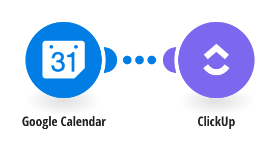 Add new Google Calendar events to ClickUp as tasks