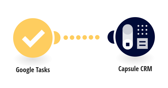 Add new Google Tasks to Capsule CRM