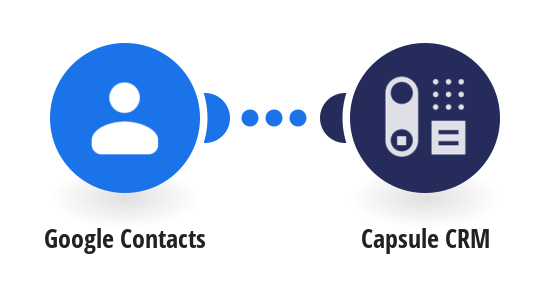 Add new Google Contacts to Capsule CRM as people