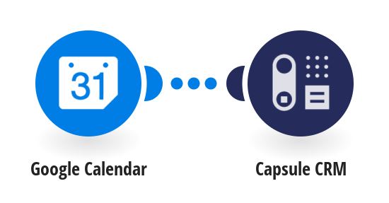 Add new Google Calendar events to Capsule CRM as tasks