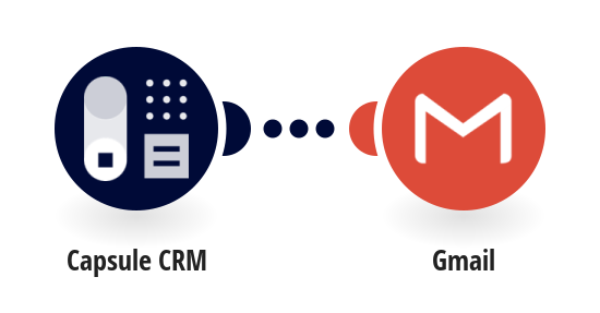 Send emails from Gmail for new Capsule CRM tasks