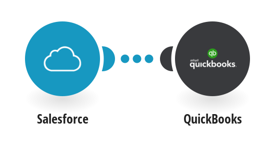 Add new SalesForce accounts to QuickBooks as customers