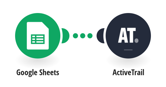 Create ActiveTrail contacts from new Google Sheets spreadsheets rows