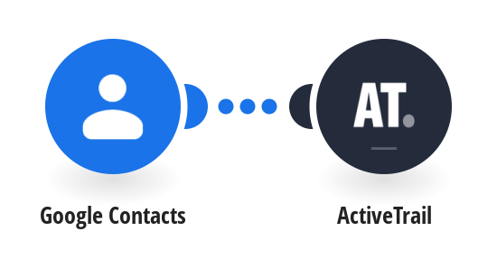 Add new Google Contacts to ActiveTrail