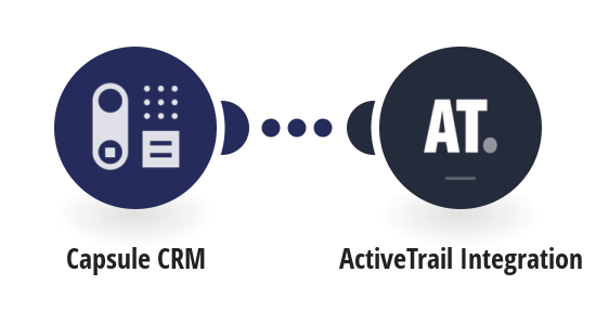 Add new Capsule CRM people to ActiveTrail as contacts