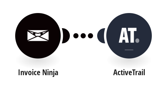 Add new Invoice Ninja clients to ActiveTrail
