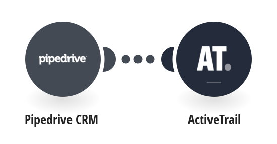 Add people from Pipedrive CRM to ActiveTrail as contacts