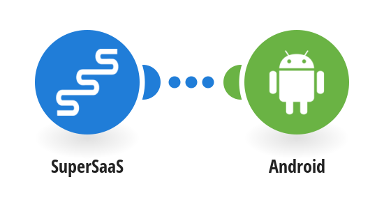 Send a push notification to your Android device as a reminder of a SuperSaaS appointment