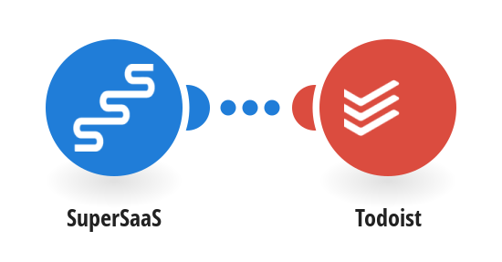 Let every new appointment in SuperSaaS create a new task in Todoist