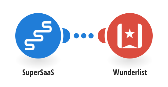 Let every new SuperSaaS appointment create a task in Wunderlist