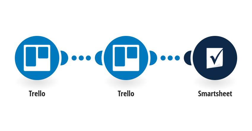 Save new Trello cards to Smartsheet