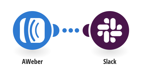 Send a message to Slack when a new subscriber is added to AWeber