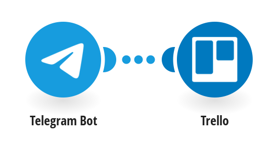 Create Trello cards from new Telegram messages