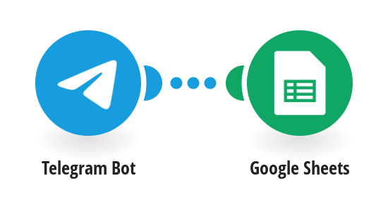 Save Telegram messages to a Google Sheets spreadsheet